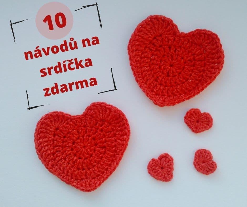 10 návodů na háčkované dekorace a srdíčka na Valentýna