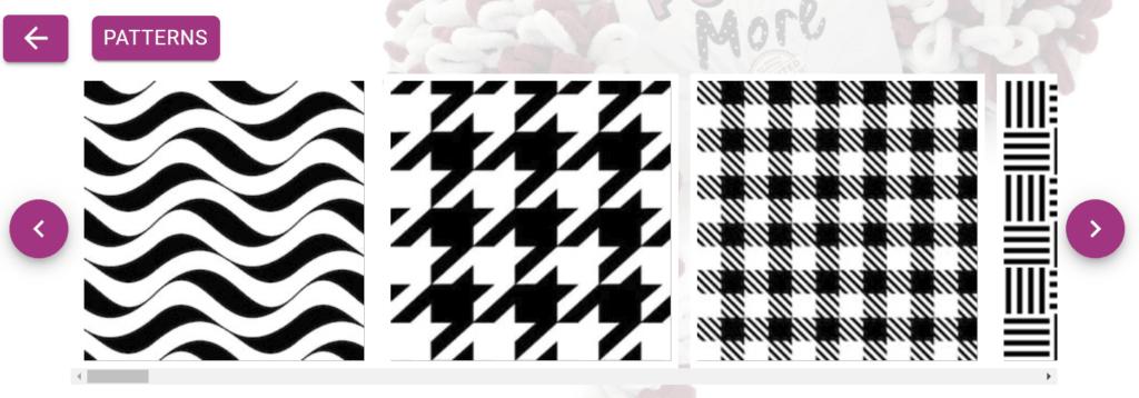 motivy pro pletení na prstech alize puffy more